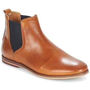 Schuhe Herren Boots André HOVEL Braun