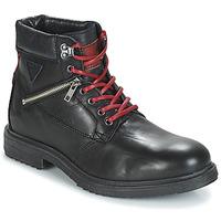 Schuhe Herren Boots André MORRO Schwarz