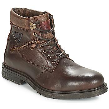 Schuhe Herren Boots André MORRO Braun