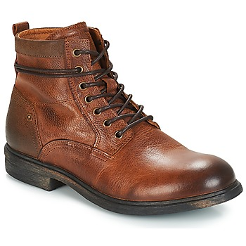 Schuhe Herren Boots André TREVOR Braun