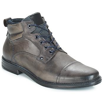 Schuhe Herren Boots André VERON Grau
