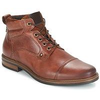 Schuhe Herren Boots André VERON Braun