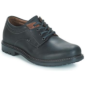 Schuhe Herren Derby-Schuhe André BOULON Schwarz
