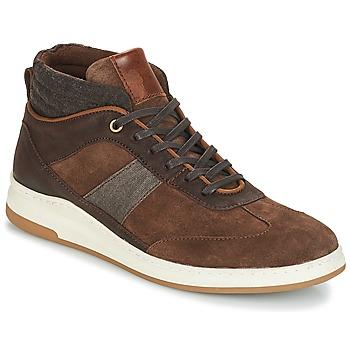 Schuhe Herren Sneaker High André GLASGOW Braun