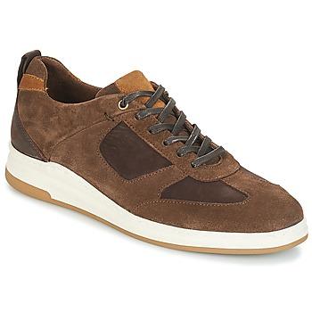 Schuhe Herren Sneaker Low André CINZA Braun
