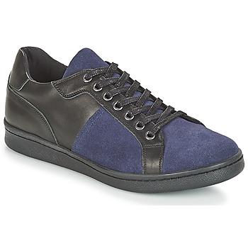 Schuhe Herren Sneaker Low André AURELIEN Blau