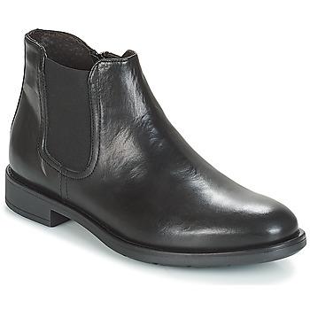 Schuhe Herren Boots André VALOREILLE Schwarz