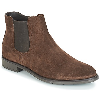 Schuhe Herren Boots André VALOREILLE Braun