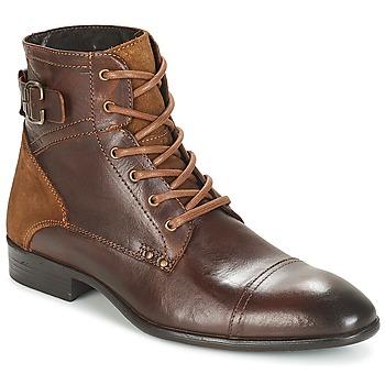 Schuhe Herren Boots André PHILIPPE Braun