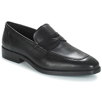 Schuhe Herren Slipper André MOC Schwarz