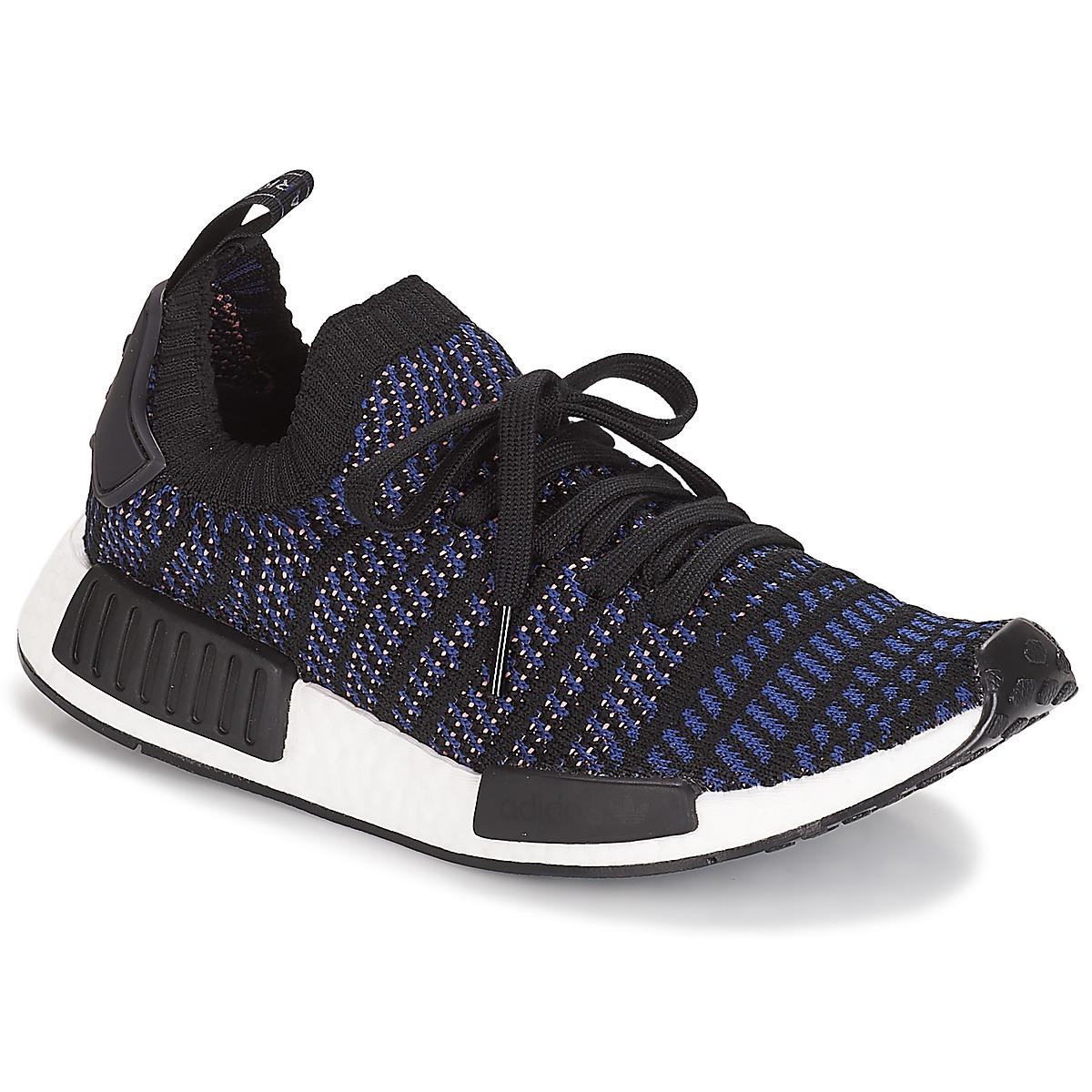 adidas Originals NMD R1 STLT PK W Schwarz - Kostenloser Versand bei Spartoode ! - Schuhe Sneaker Low Damen 179,95 €
