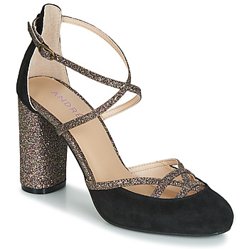 Schuhe Damen Pumps André PUMPY Schwarz