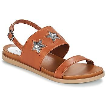 Schuhe Damen Sandalen / Sandaletten André TAIGA Camel