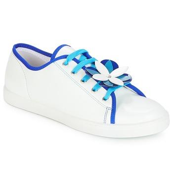 Schuhe Damen Sneaker Low André GUIMAUVE Weiss