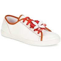 Schuhe Damen Sneaker Low André GUIMAUVE Rot