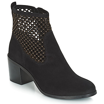 Schuhe Damen Boots André TOTEM Schwarz