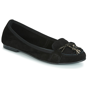 Schuhe Damen Slipper André COQUETTE Schwarz