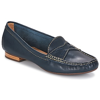 Schuhe Damen Slipper André DORY Marine
