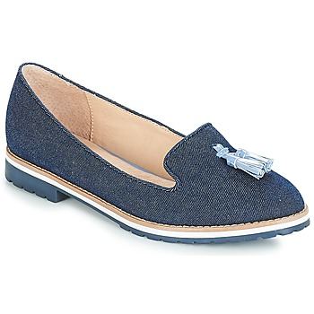 Schuhe Damen Slipper André DINAN Blau