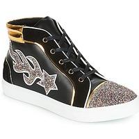 Schuhe Damen Sneaker High André LOTUS Schwarz