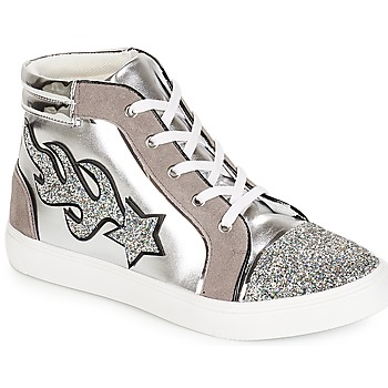 Schuhe Damen Sneaker High André LOTUS Silbern