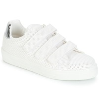 Schuhe Damen Sneaker Low André CARLINE Weiss