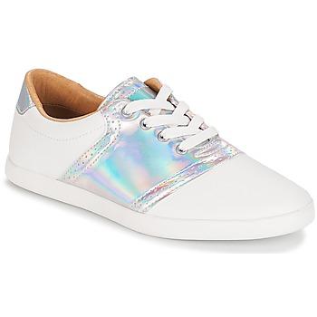 Schuhe Damen Sneaker Low André LIZZIE Weiss