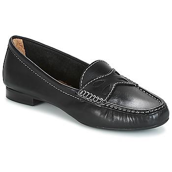 Schuhe Damen Slipper André DORY Schwarz