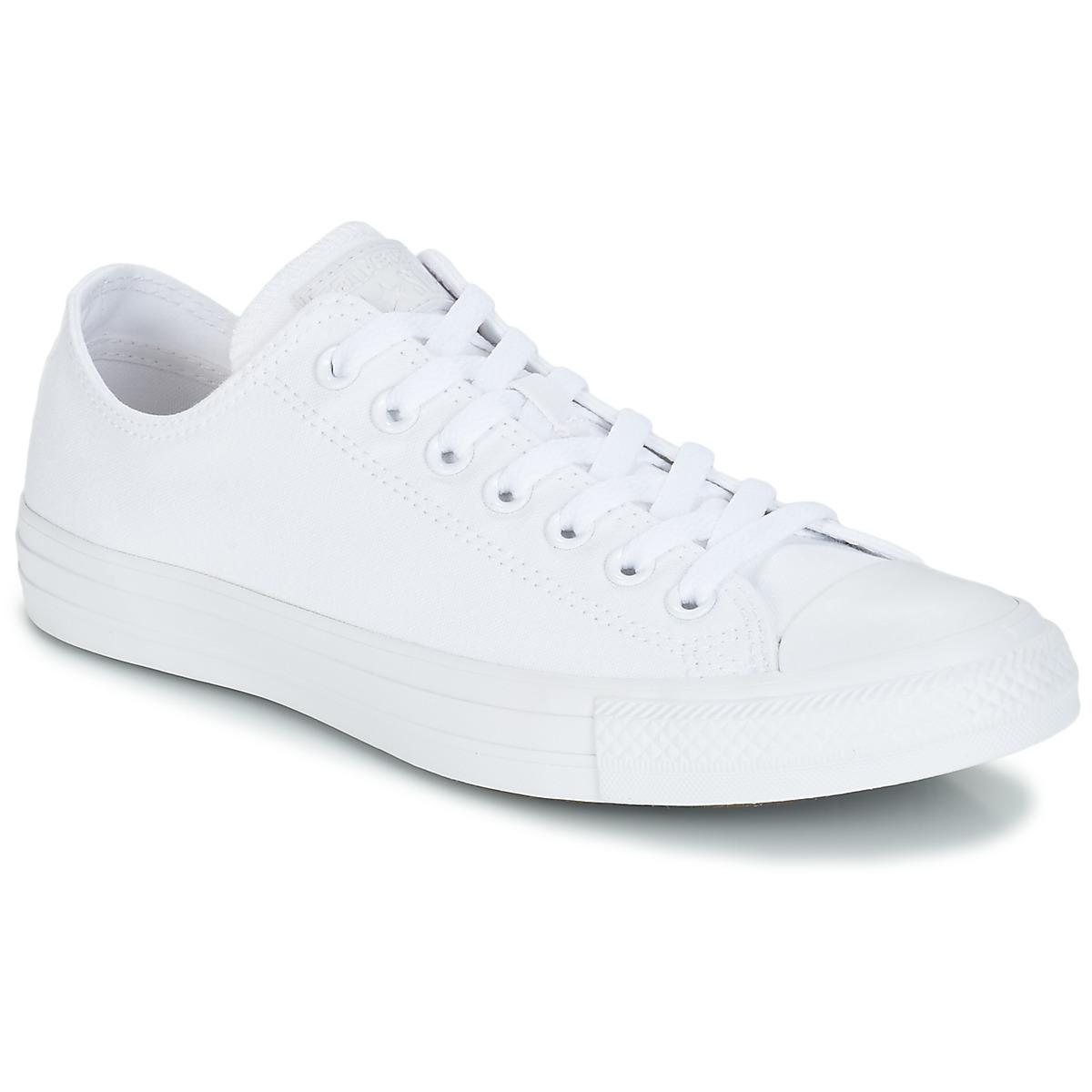 Converse ALL STAR CORE OX Weiss - Kostenloser Versand bei Spartoode ! - Schuhe Sneaker Low  51,99 €