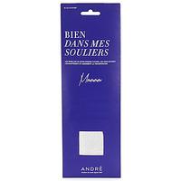 Accessoires Damen Schuh Accessoires André SEMELLE EPONGE Weiss