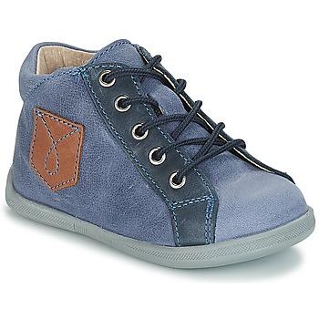 Schuhe Jungen Boots André POCHE Blau
