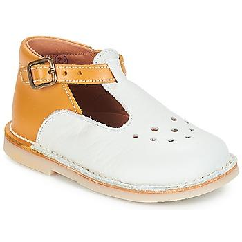 Schuhe Mädchen Ballerinas André FALAISE Naturfarben