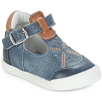 Schuhe Mädchen Ballerinas André POCHOIR Blau
