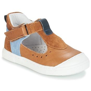 Schuhe Kinder Ballerinas André SARBACANE Camel