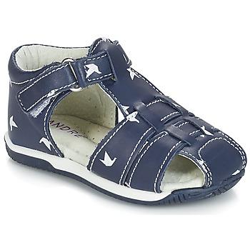 Schuhe Jungen Sandalen / Sandaletten André ORIGAMI Blau