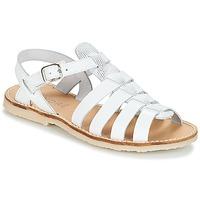Schuhe Mädchen Sandalen / Sandaletten André CANDIE Weiss