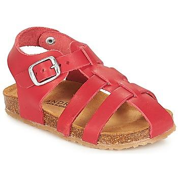 Schuhe Kinder Sandalen / Sandaletten André AVIRON Rot