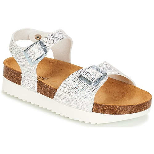 Schuhe Mädchen Sandalen / Sandaletten André LAURE Silbern