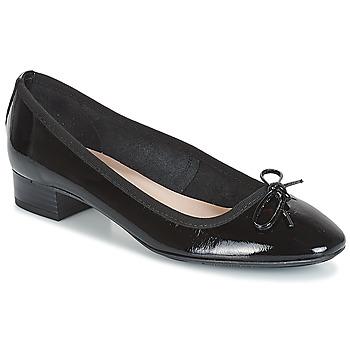 Schuhe Damen Ballerinas André PAROSA Schwarz