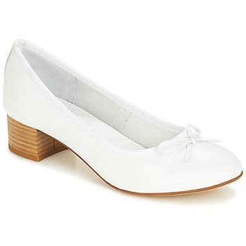 Schuhe Damen Ballerinas André POETESSE Weiss