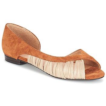 Schuhe Damen Sandalen / Sandaletten André PIPA Camel