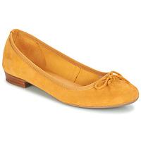 Schuhe Damen Ballerinas André CINDY Gelb