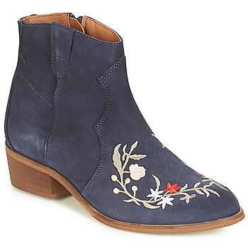 Schuhe Damen Boots André WEST Marine