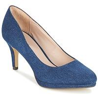 Schuhe Damen Pumps André CRYSTAL Blau