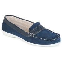 Schuhe Damen Slipper André FRIOULA Marine
