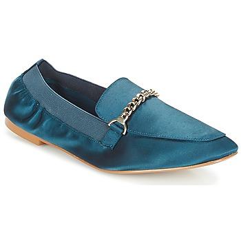 Schuhe Damen Slipper André AMULETTE Blau
