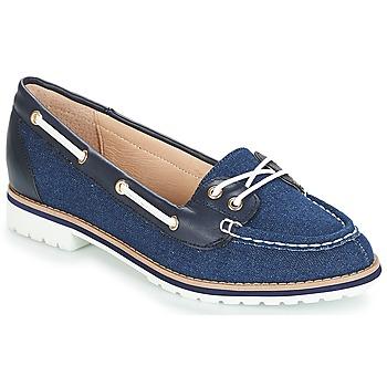 Schuhe Damen Slipper André DRISSE Blau