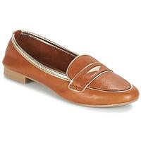Schuhe Damen Slipper André CLOCHETTE Camel