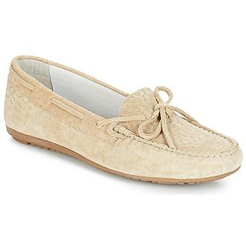 Schuhe Damen Slipper André FRIDA Beige