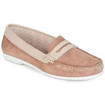Schuhe Damen Slipper André FRIOULA Beige